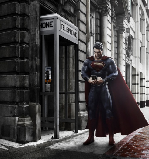 6 Famous Superheroes Caught in the Act!