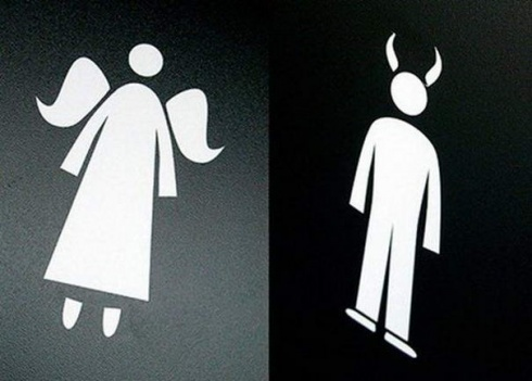 10 Creative And Really Hilarious Bathroom Signs!