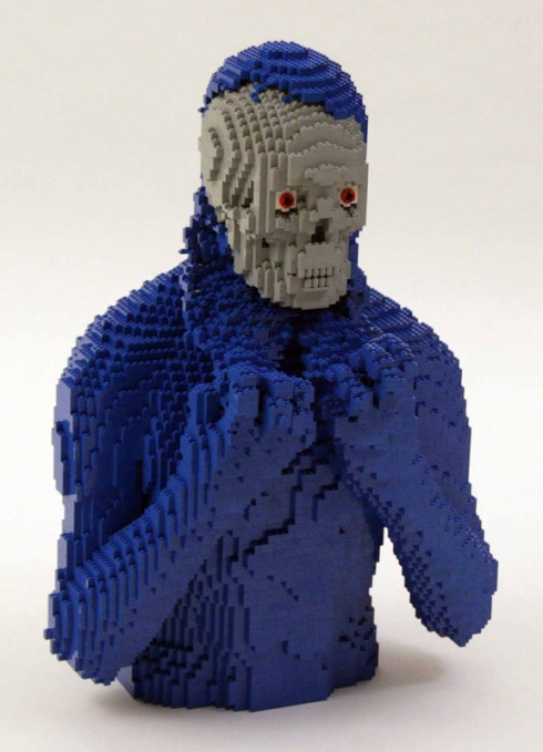 14 Unbelievable Lego Statues by Nathan Sawaya!