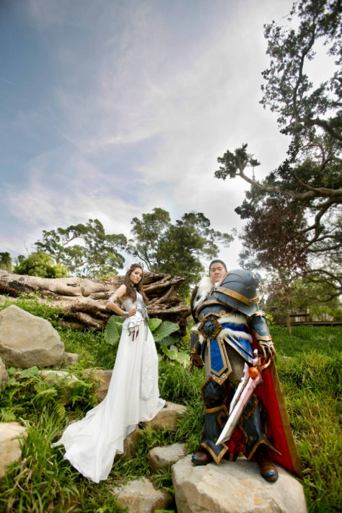 Incredible World Of Warcraft Wedding! 7 Pics