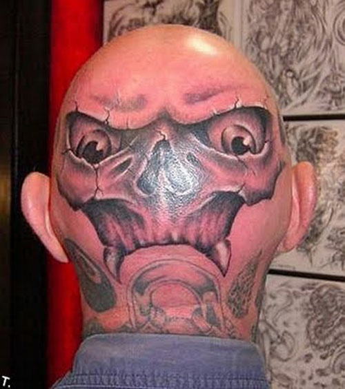10 Most Hilarious Baldhead Tattoos in the World!