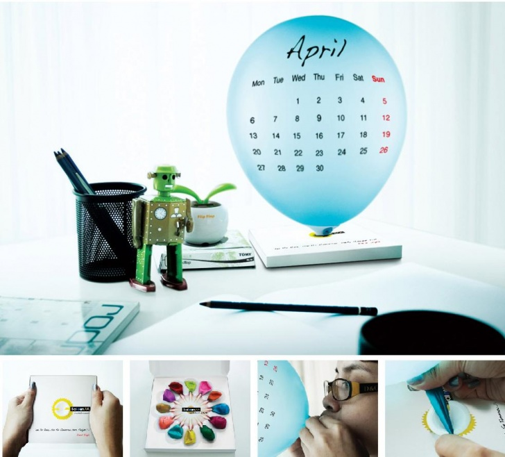 10 Most Creative Calendar Design!