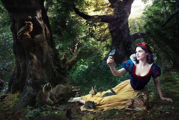 "Celebrity And Disney Fairy Tales Characters. ""Year of Million Dreams"" Project by Annie Leibovitz! 10 Pics!"