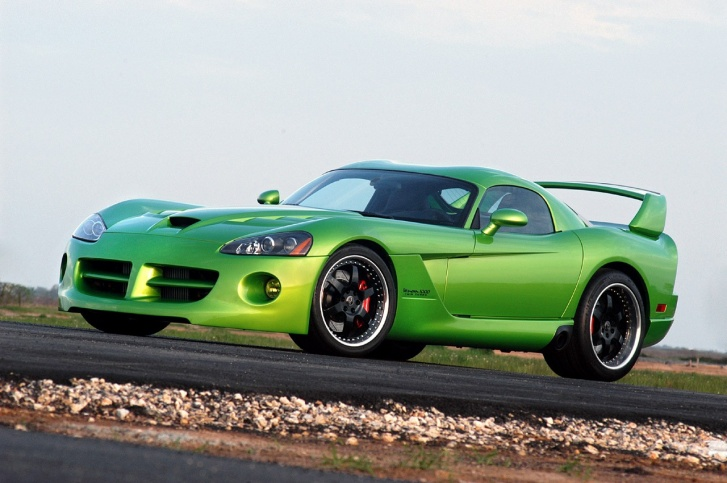 10 Most Impressive And Cool Green Cars!