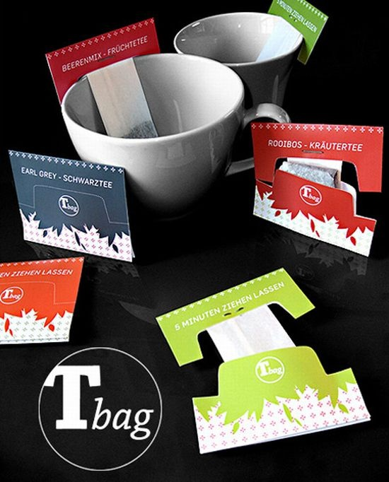 10 Imaginative tea packing!