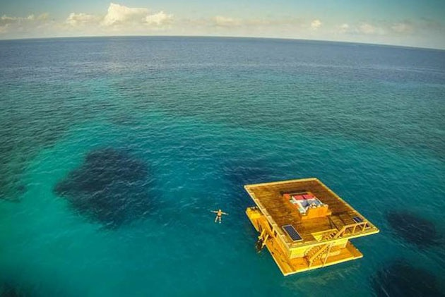 10 amazing Underwater Bedroom pictures!