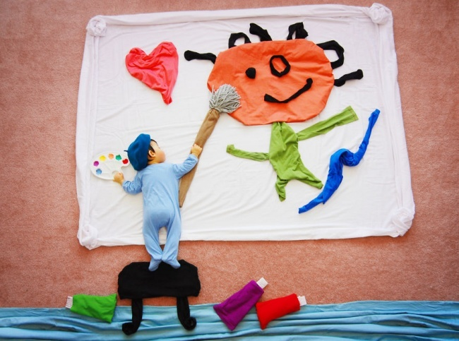 Creative Mom And Her Ideas About Childhood Dreams! 16 Pics!