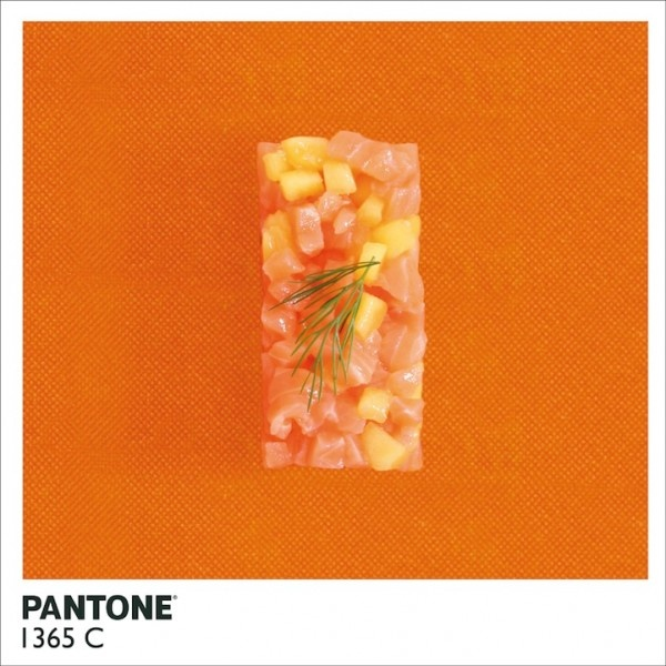 10 Pantone Food Pictures by Alison Anselot