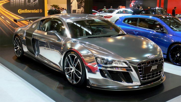 10 Coolest Chrome Cars Around the World!
