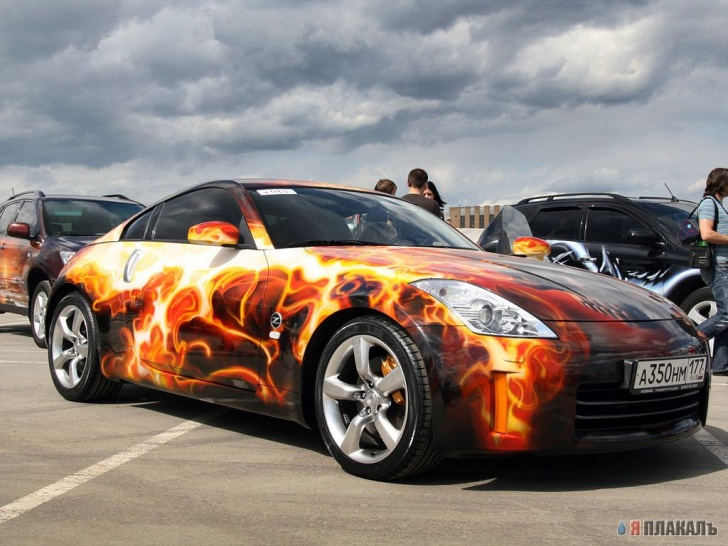 The 15 Most Amazing Car Aerography!