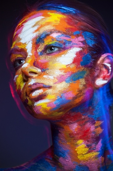 Awesome Face Art Portraits by Alexander Khokhlov! 15 Pics!