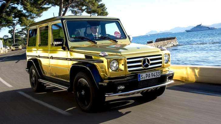 The 10 Most Impressive Golden Cars Ever!