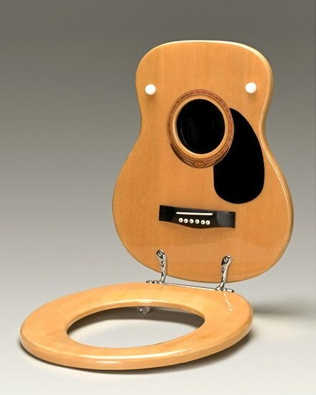10 Surprising and Unusual Guitar-Shaped Things!