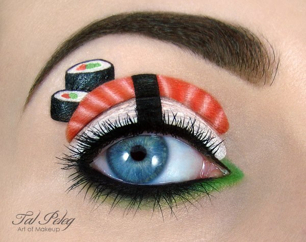 Get Ready for Christmas With Incredible Makeup Ideas by Tal Peleg! 10 Pics!