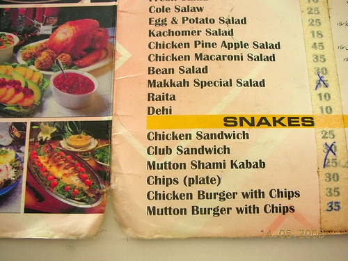 Top 10 Funniest Restaurant Menus!
