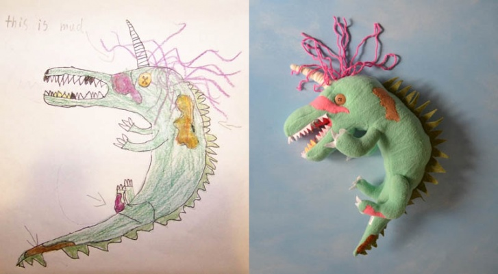 14 Incredible Toys Created by the Drawings of Children!
