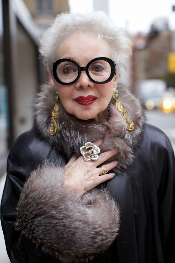 Advanced Style Project - Every Age Should Be Tasteful! 15 Pics!