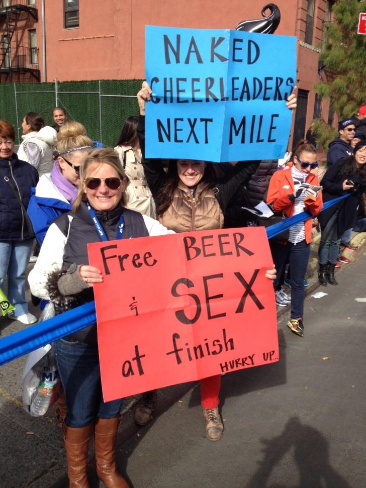 11 Motivating Signs at Marathons!