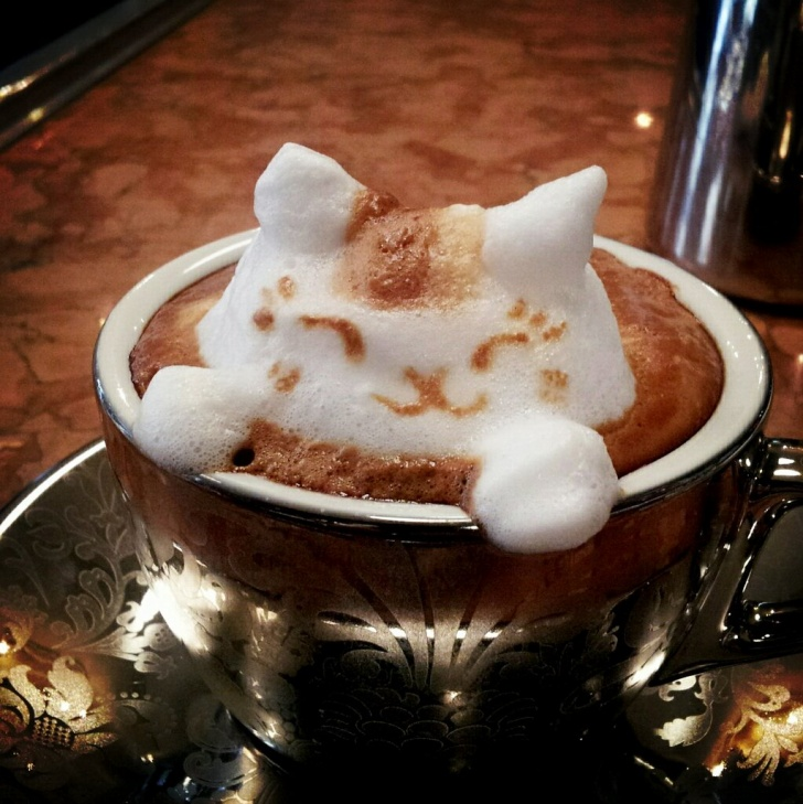 11 Amazingly Creative Coffee Froth!