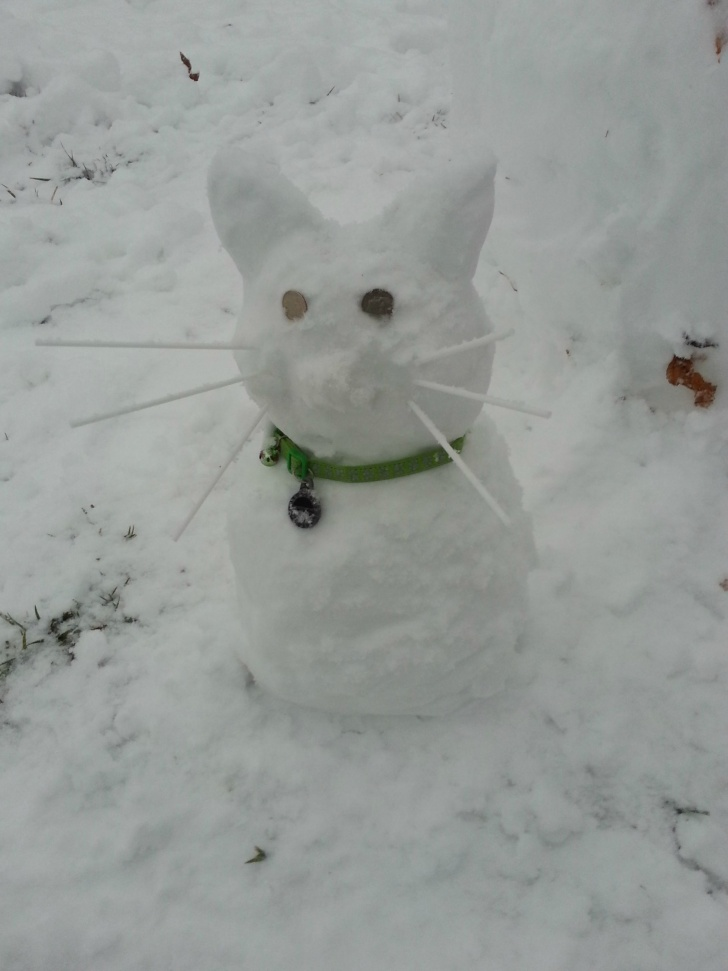 11 Pics of the Funniest Snowmen Ever!