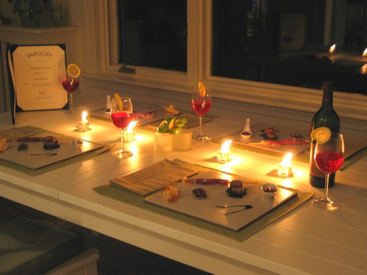 Candlelight Dinner At Home 10 Cheap Date Ideas Which You Can Use