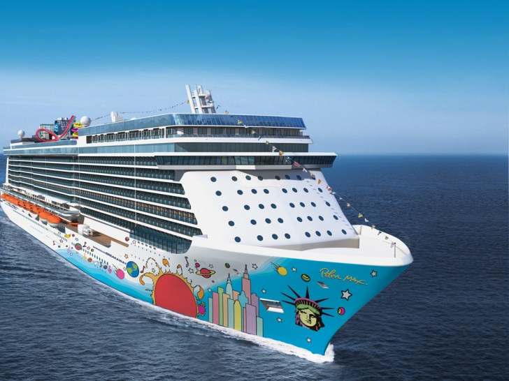 Norwegian Breakaway  10 Biggest Cruise Ships In The World