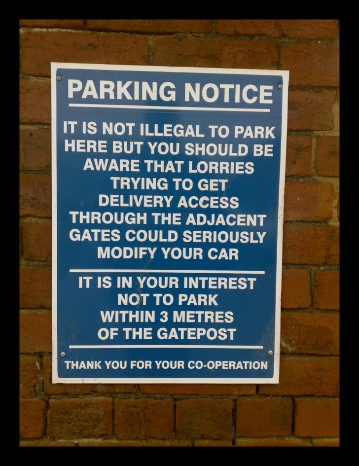 10 Funny Parking Signs From Across the World!