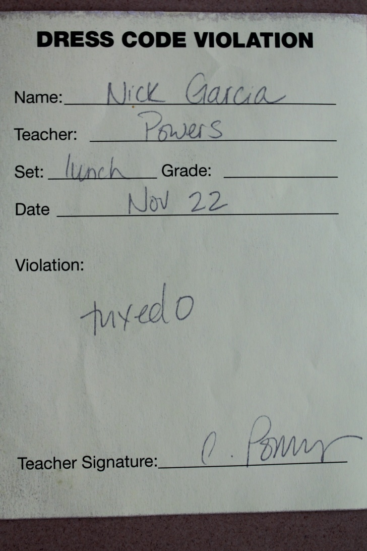 10 Funny School Detention Slips!