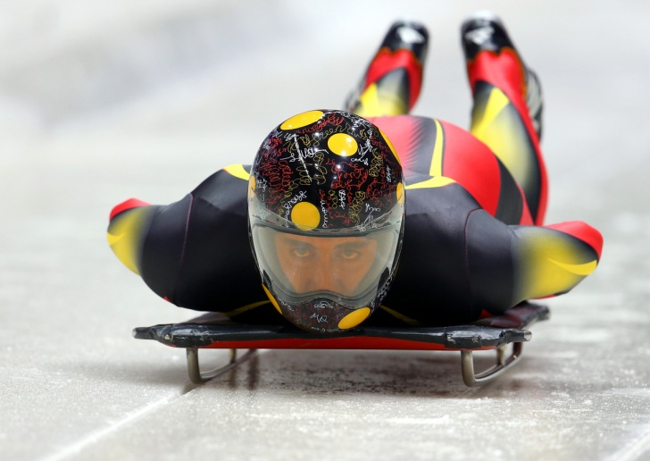 Sochi Olympics 2014: 10 Most Exciting And Creative Skeleton Helmets!