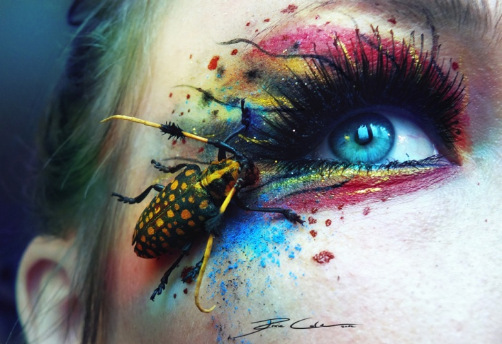 16 Amazingly Inspirational Artistic Eye Makeup by PixieCold!