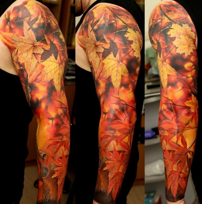 11 Incredibly Beautiful Tattoos by Ukrainian Artist!