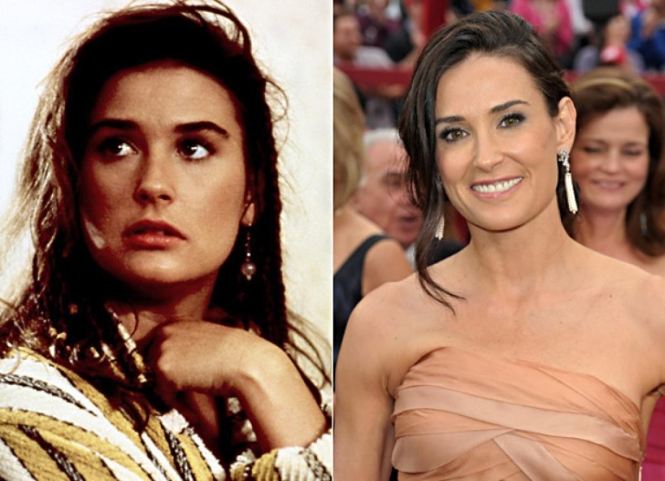 Celebrities: Then and Now - 10 Pics!